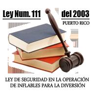 Ley 111 del 2003 - Operacion de Inflables
