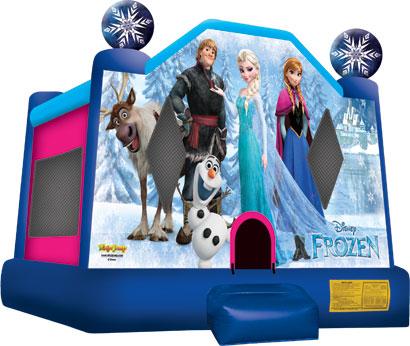 Casa de Brinco Frozen