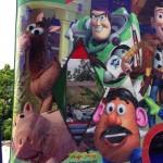 Casa de brinco Toys Story